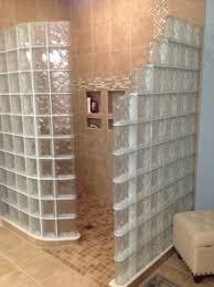 glass block bathroom designs glass block shower wall walk in designs nationwide supply