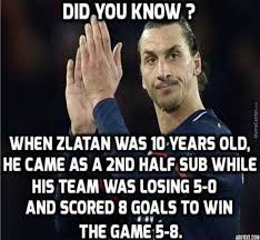 Fact Meme - zlatan fact by negergoose meme center