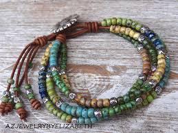 beading leather bracelet images 650 best wrap bracelets images beaded jewelry jpg