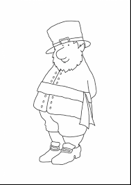 brilliant st patricks day coloring page with leprechaun coloring