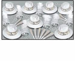 new years party kits wholesale silver new year s party kits