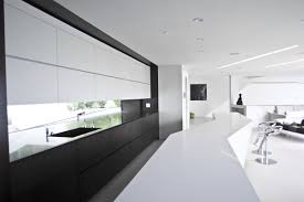 Kitchen Window Backsplash 40 Beautiful Black U0026 White Kitchen Designs