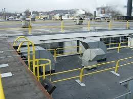 Temporary Handrail Systems Non Penetrating Portable Guardrail Diversified Fall Protection