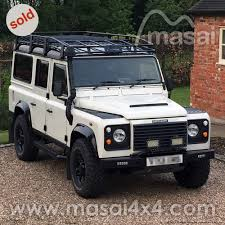 new land rover defender 110 land rover defender 110 2 5 td5 chawton white sold