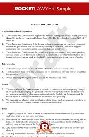Terms Conditions And Conditions For Sale Of Goods To Business Customers B2b