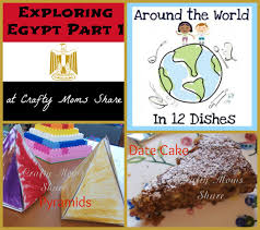 crafty moms share around the world in 12 dishes egypt part 1