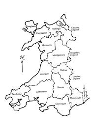 Map Of Wales Gareth U0027s Help Page Welsh Counties Pre 1974