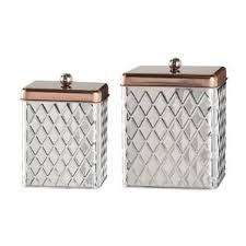 stainless steel kitchen canister sets kitchen canisters jars you ll wayfair