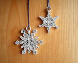quilled snowflake decorations 10 steps with pictures