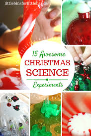 christmas science activities and experiments for kids holiday
