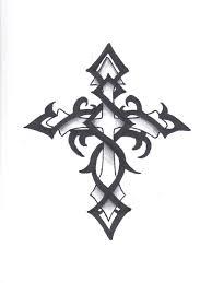 19 tribal cross designs images tribal crosses tattoos tribal