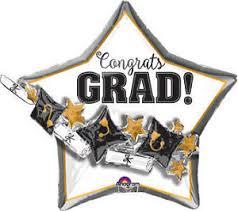 grad party supplies graduation cap scroll balloon 27 shape foil mylar grad