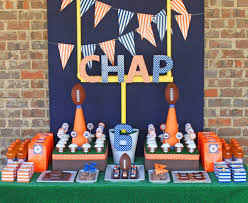 Nfl Decorations Scenic For Kids Birthday Party Ideas Birthday Party Ideas In To