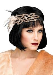 flapper headband deluxe 1920 s beaded flapper headband candy apple costumes