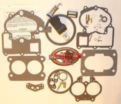 mercarb mercruiser marine 2 barrel carburetor repair kit w float