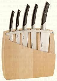 bloc de couteaux de cuisine bloc bois 5 couteaux cuisine le thiers couteau couteaux berthier