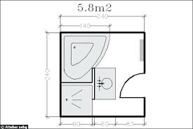 superficie minimum chambre amacnagement salle de bains 28 plans pour une salle