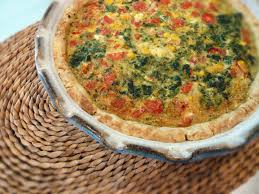 pat in the pan crust quiche keeprecipes your universal recipe box