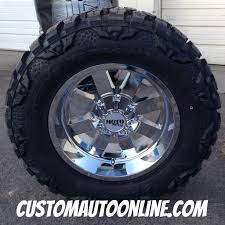 jeep wheels and tires chrome custom automotive packages off road packages 18x10 moto