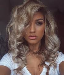 medium blonde hairstyle hair hair hair pinterest