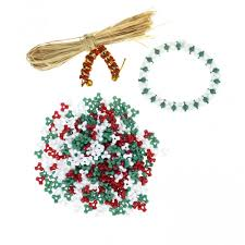 christmas tri beads 300 beads buttons beads u0026 bells from