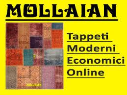 tappeti on line tappeti moderni on line economici great tappeti neri moderni idee