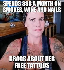 Bad Tattoo Meme - mudcrickets imgflip