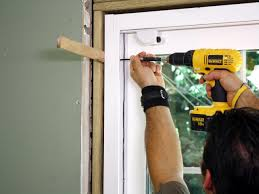 Fixing A Sliding Glass Door Track by How To Install Sliding Glass Doors How Tos Diy