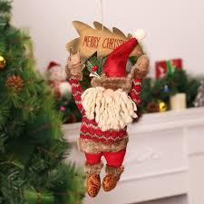 christmas decoration for home wood craft christmas pendant