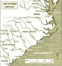Map Of The 13 Colonies The American Revolutionary War From A British Perspective