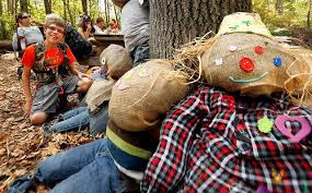 Blind Christian Insight Club Members Visit Whistle Pig Pumpkin Patch In Noxen