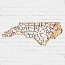 carolina county map map of nc counties nc county map north