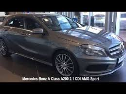 mercedes used vehicles mercedes a class a200 2 1 cdi amg sport rivervale approved