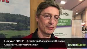 chambre d agriculture de bretagne hervé gorius chambre d agriculture de bretagne biogaz europe