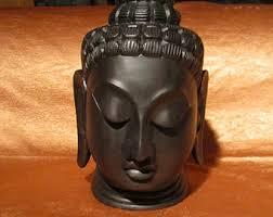 Decorative Buddha Head Marble Buddha Statue Etsy