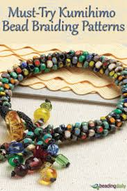30 best kumihimo patterns braiding instructions images on