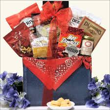 gourmet gift basket west s day hot spicy gourmet gift basket swank