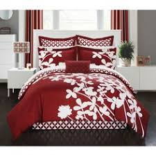 Wine Colored Bedding Sets New Size Comforter Set 8 Wine And White Bedding