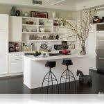 modern interior decorating with open wall shelves small u0026 simple