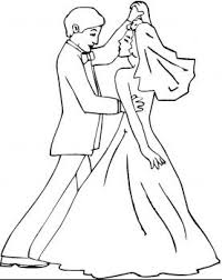 123 wedding coloring pages images marriage