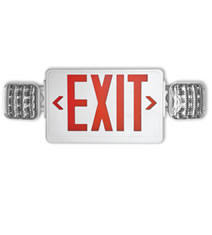 exit emergency light combo emergency lights exit signs led commercial lighting led wall