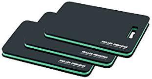mueller kueps mueller kueps 905 000 3 black green mechanics kneeling pad 3 pack
