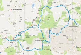 Std Map 5 Wochen Im Südwesten Der Usa U2013 Wandern Reisen U0026 Mehr
