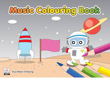 music colouring book 4 dolce music