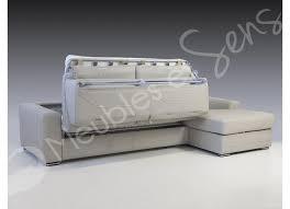 canapé convertible matelas photos canapé lit convertible avec vrai matelas