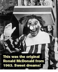 Ronald Mcdonald Phone Meme - this was the original ronald mcdonald from 1963 sweet dreams dank