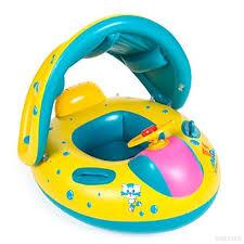 siege gonflable b bébé bébé piscine de sécurité réglable pare soleil flotteur piscine