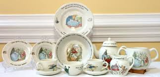 wedgewood rabbit child s tea set rabbit by wedgewood china beatrix potter