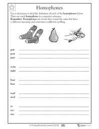 homophones worksheet homophones worksheets u0026 activities