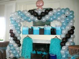 centerpiece for baby shower baby shower balloon decoration ideas party balloons decor